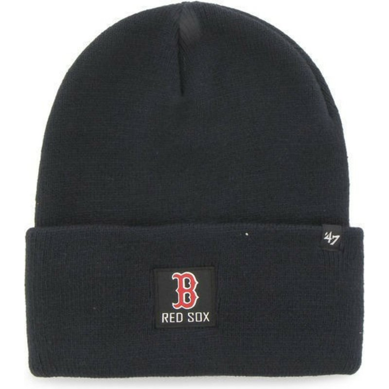 bonnet-bleu-marine-avec-logo-carree-boston-red-sox-mlb-portbury-47-brand