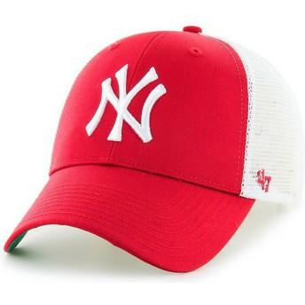 47 Brand New York Yankees MLB MVP Trucker Cap rot