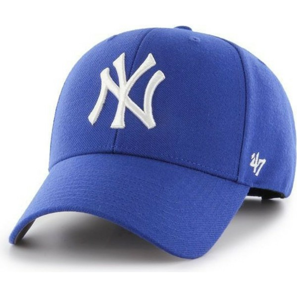 casquette-courbee-bleue-snapback-new-york-yankees-mlb-mvp-47-brand