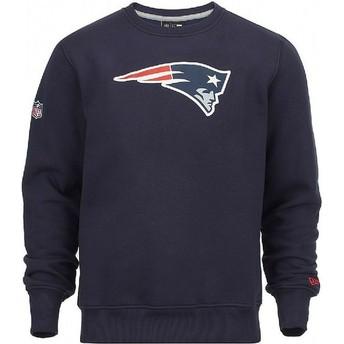 New Era New England Patriots NFL Crew Neck Sweatshirt blau