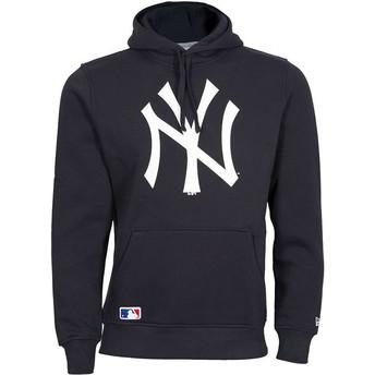 New Era New York Yankees MLB Pullover Hoodie Kapuzenpullover Sweatshirt marineblau