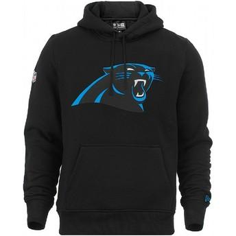 New Era Carolina Panthers NFL Pullover Hoodie Kapuzenpullover Sweatshirt schwarz
