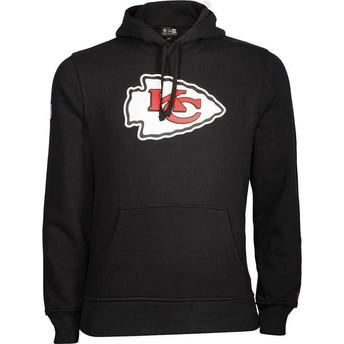 New Era Kansas City Chiefs NFL Pullover Hoodie Kapuzenpullover Sweatshirt schwarz