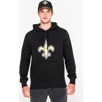 New Era New Orleans Saints NFL Pullover Hoodie Kapuzenpullover Sweatshirt schwarz