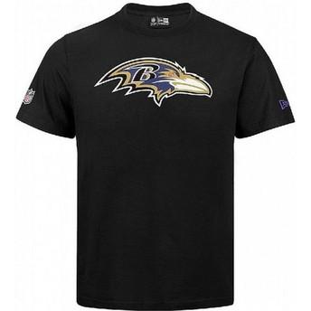 T-shirt à manche courte noir Baltimore Ravens NFL New Era