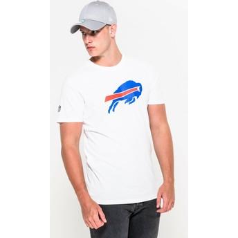 T-shirt à manche courte blanc Buffalo Bills NFL New Era