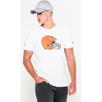 New Era Cleveland Browns NFL T-Shirt weiß