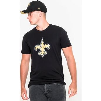 T-shirt à manche courte noir New Orleans Saints NFL New Era