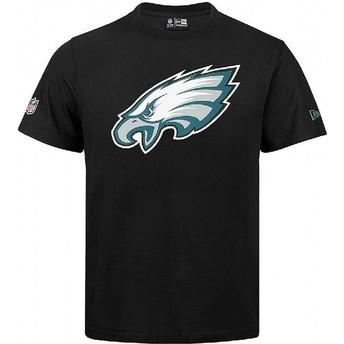 T-shirt à manche courte noir Philadelphia Eagles NFL New Era