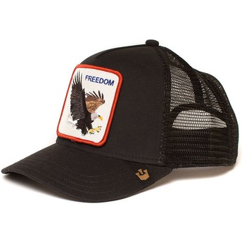 Goorin Bros. Eagle Freedom Trucker Cap schwarz