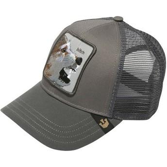 Cappellino trucker grigio volpe Lassy di Goorin Bros.