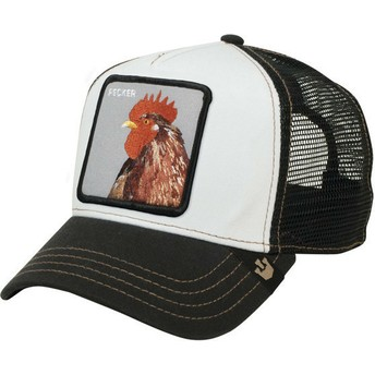 Casquette trucker noire coq Plucker Goorin Bros.