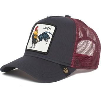 Cappellino trucker nero gallo Prideful di Goorin Bros.