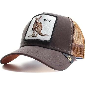 Goorin Bros. Kangaroo Roo Trucker Cap braun
