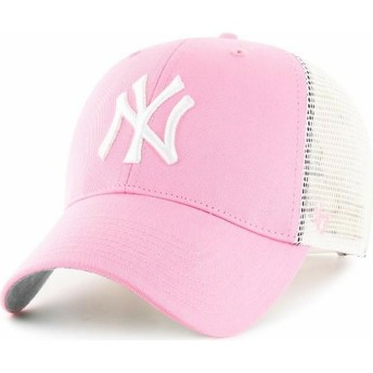 Casquette trucker rose New York Yankees MLB 47 Brand