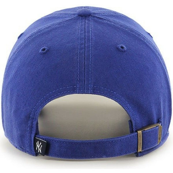 casquette-courbee-bleue-pour-enfant-new-york-yankees-mlb-clean-up-youth-47-brand