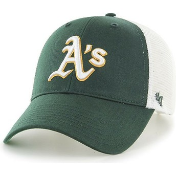 Casquette trucker verte Oakland Athletics MLB MVP Branson 47 Brand