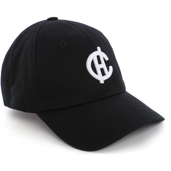 Casquette courbée noire Aspen avec logo CH Caphunters