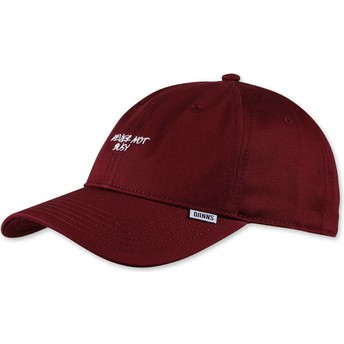 Djinns Curved Brim Texting Never Not Busy Adjustable Cap rot