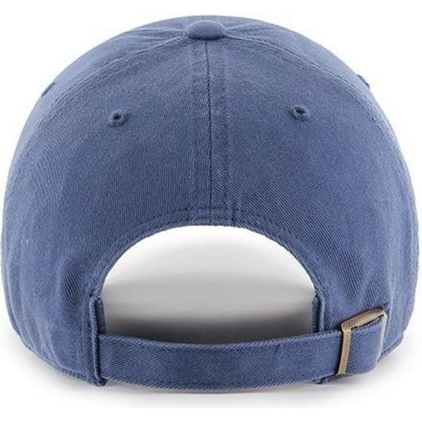 casquette-courbee-bleue-avec-logo-bleu-new-york-yankees-mlb-clean-up-47-brand