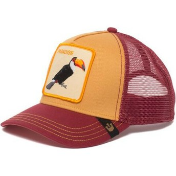 Cappellino trucker giallo tucano Take Me To di Goorin Bros.