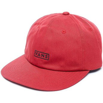 Vans Curved Brim Bill Adjustable Cap rot