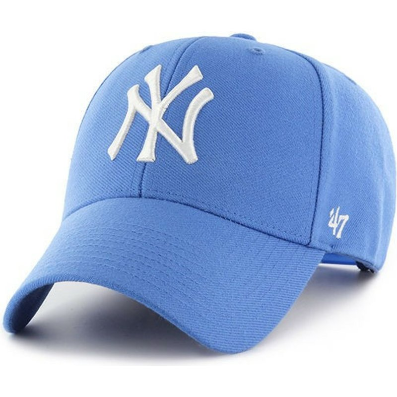 casquette-courbee-bleue-raz-snapback-new-york-yankees-mlb-mvp-47-brand