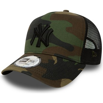 Casquette trucker camouflage Clean A Frame New York Yankees MLB New Era