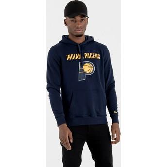 Sweat à capuche bleu marine Pullover Hoody Indiana Pacers NBA New Era