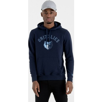 New Era Memphis Grizzlies NBA Pullover Hoodie Kapuzenpullover Sweatshirt marineblau