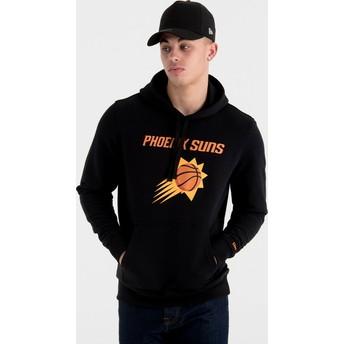 Sweat à capuche noir Pullover Hoody Phoenix Suns NBA New Era