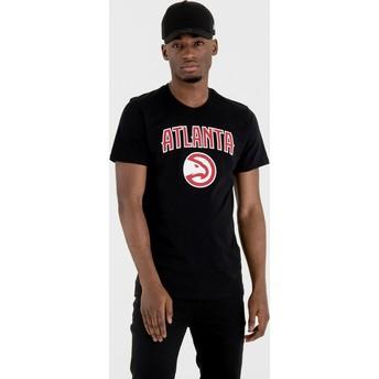 New Era Atlanta Hawks NBA T-Shirt schwarz