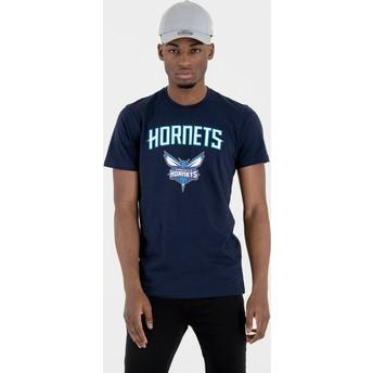 New Era Charlotte Hornets NBA T-Shirt marineblau