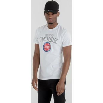 New Era Detroit Pistons NBA T-Shirt weiß