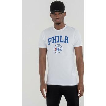 New Era Philadelphia 76ers NBA T-Shirt weiß