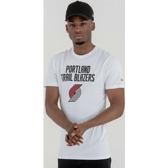 New Era Portland Trail Blazers NBA T-Shirt weiß