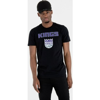 New Era Sacramento Kings NBA T-Shirt schwarz