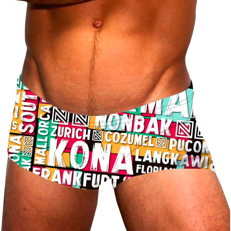 short-de-bain-multicolore-pour-homme-ironworld-shorty-nonbak