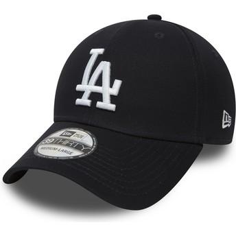 Casquette courbée bleue marine ajustée 39THIRTY Classic Los Angeles Dodgers MLB New Era