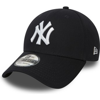 New Era Curved Brim 39THIRTY Classic New York Yankees MLB Fitted Cap marineblau