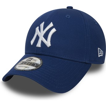 Casquette courbée bleue ajustable 9FORTY Essential New York Yankees MLB New Era