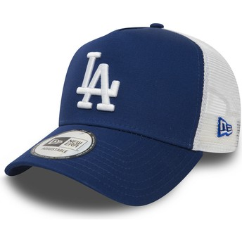 Casquette trucker bleue Clean A Frame Los Angeles Dodgers MLB New Era