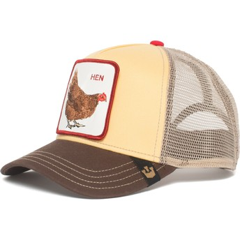 Goorin Bros. Chicken Hen Trucker Cap gelb