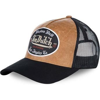 Von Dutch GRL Trucker Cap schwarz und braun
