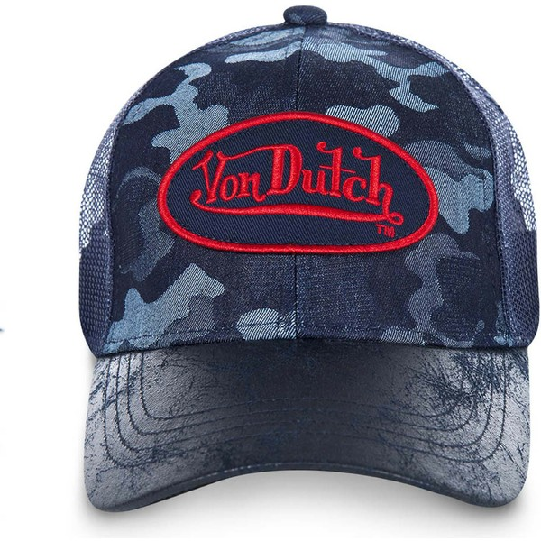 casquette-trucker-camouflage-bleue-harry-von-dutch