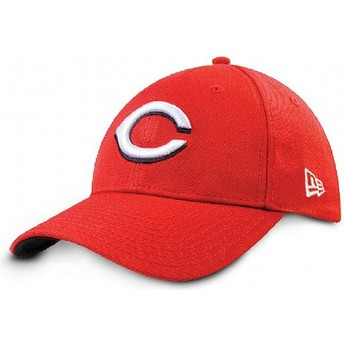 Casquette courbée rouge ajustable 9FORTY The League Cincinnati Reds MLB New Era