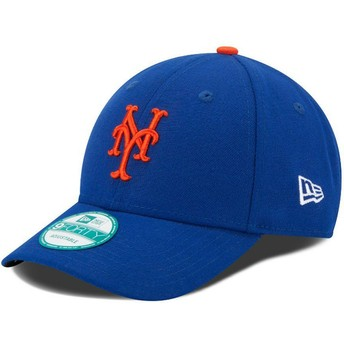 Casquette courbée bleue ajustable 9FORTY The League New York Mets MLB New Era
