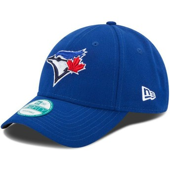 Casquette courbée bleue ajustable 9FORTY The League Toronto Blue Jays MLB New Era