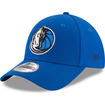 Casquette courbée bleue ajustable 9FORTY The League Dallas Mavericks NBA New Era