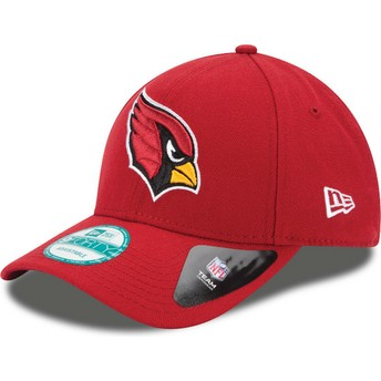 Casquette courbée rouge ajustable 9FORTY The League Arizona Cardinals NFL New Era